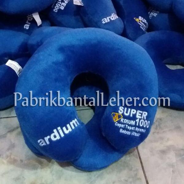 bantal leher promosi ardium biru