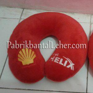 bantal leher promosi shell helix