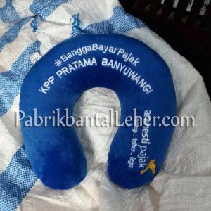 merchandise bantal leher kantor pajak
