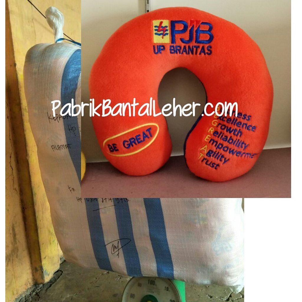 bantal leher desain custom PJB