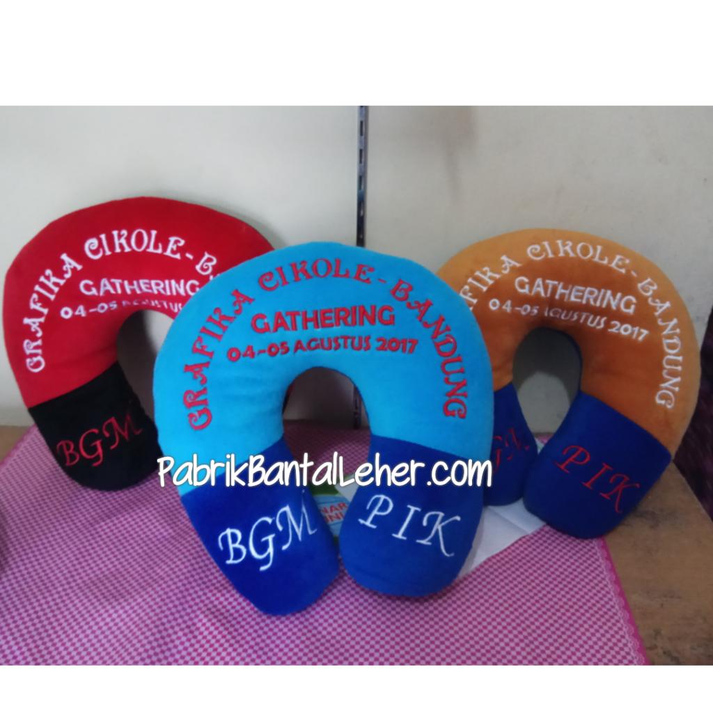 bantal leher souvenir gathering bgm pik