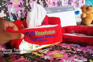 souvenir promosi unik sarung tissue