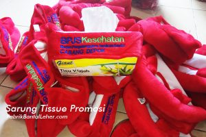 souvenir tempat tissue promosi