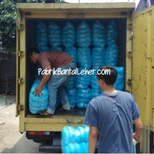 Pabrik Bantal Leher Kirim ke Kuala Tungkal
