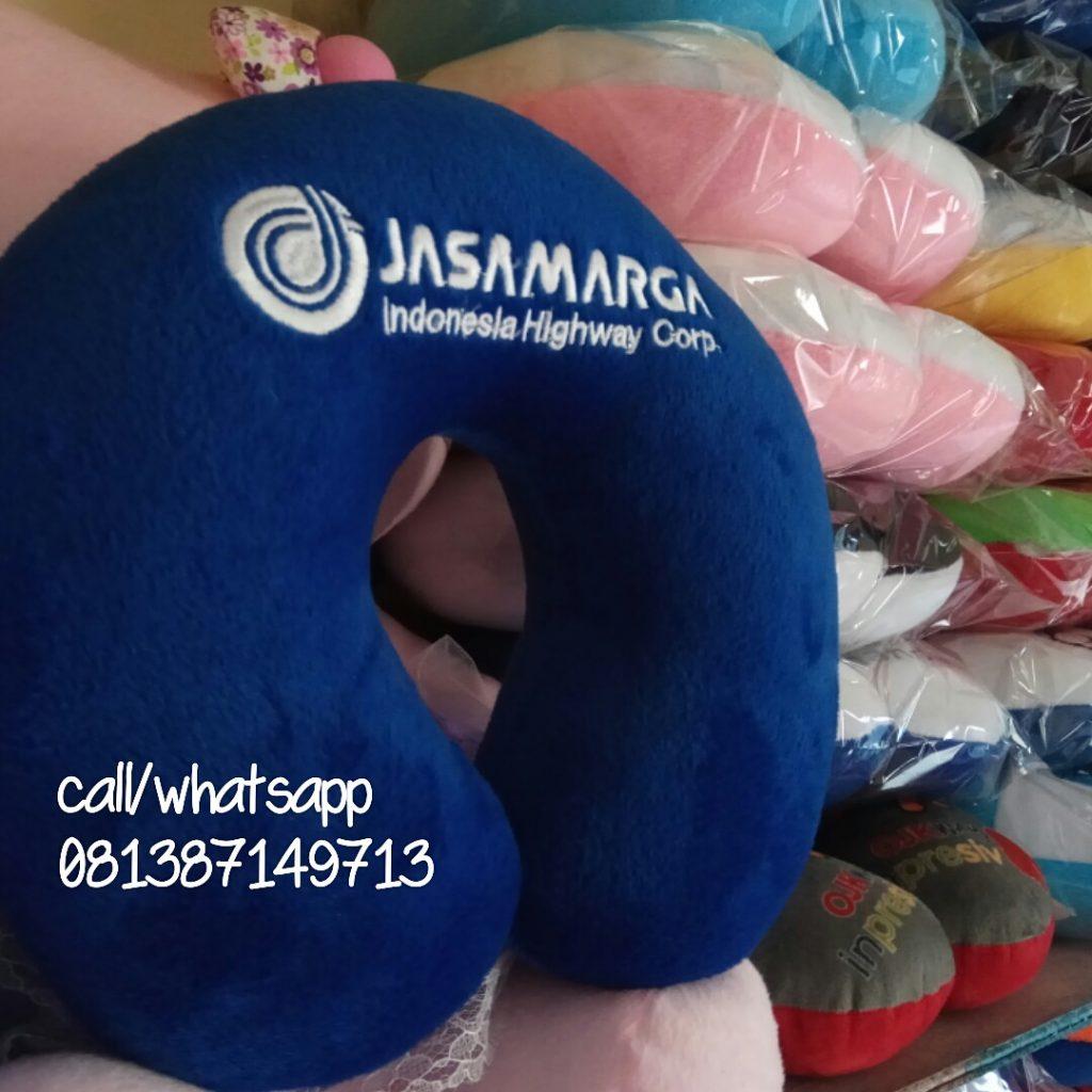 produsen bantal leher promosi jasamarga
