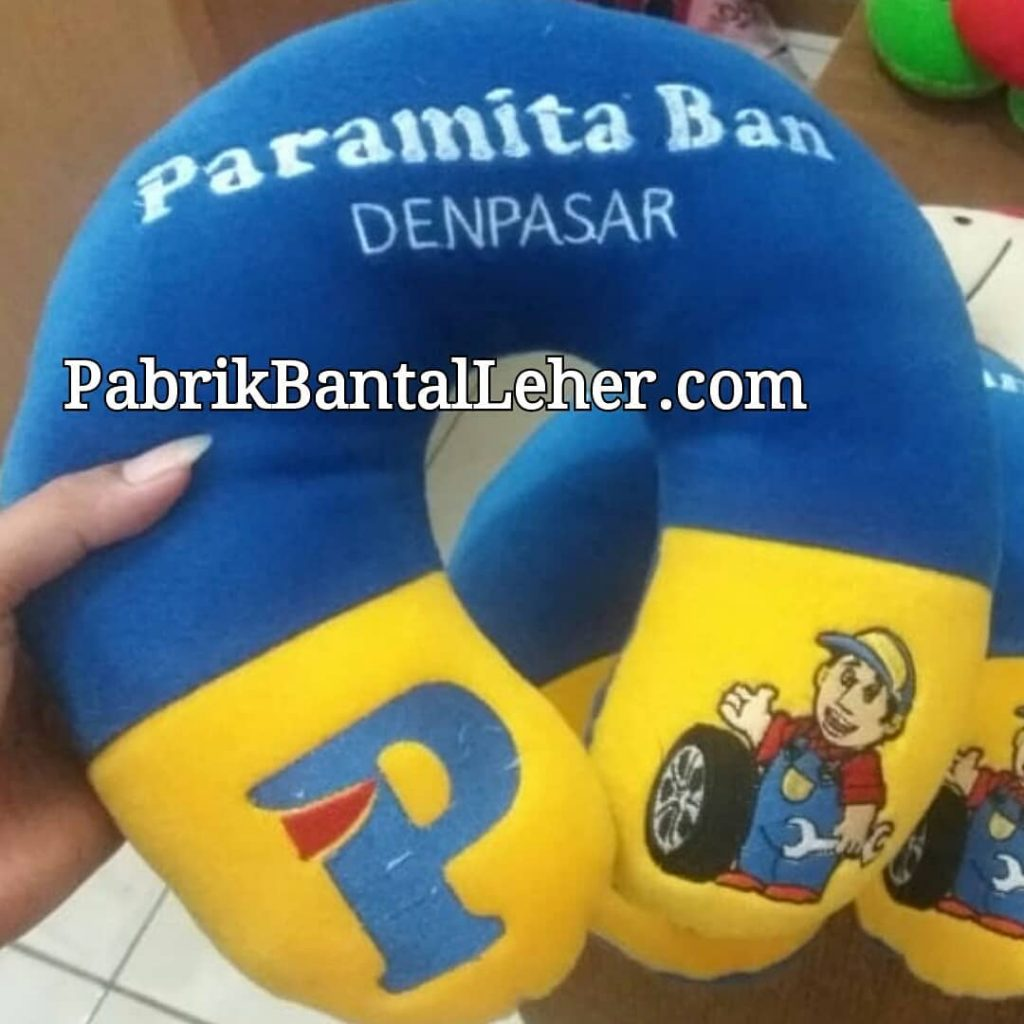 custom bantal leher paramita ban