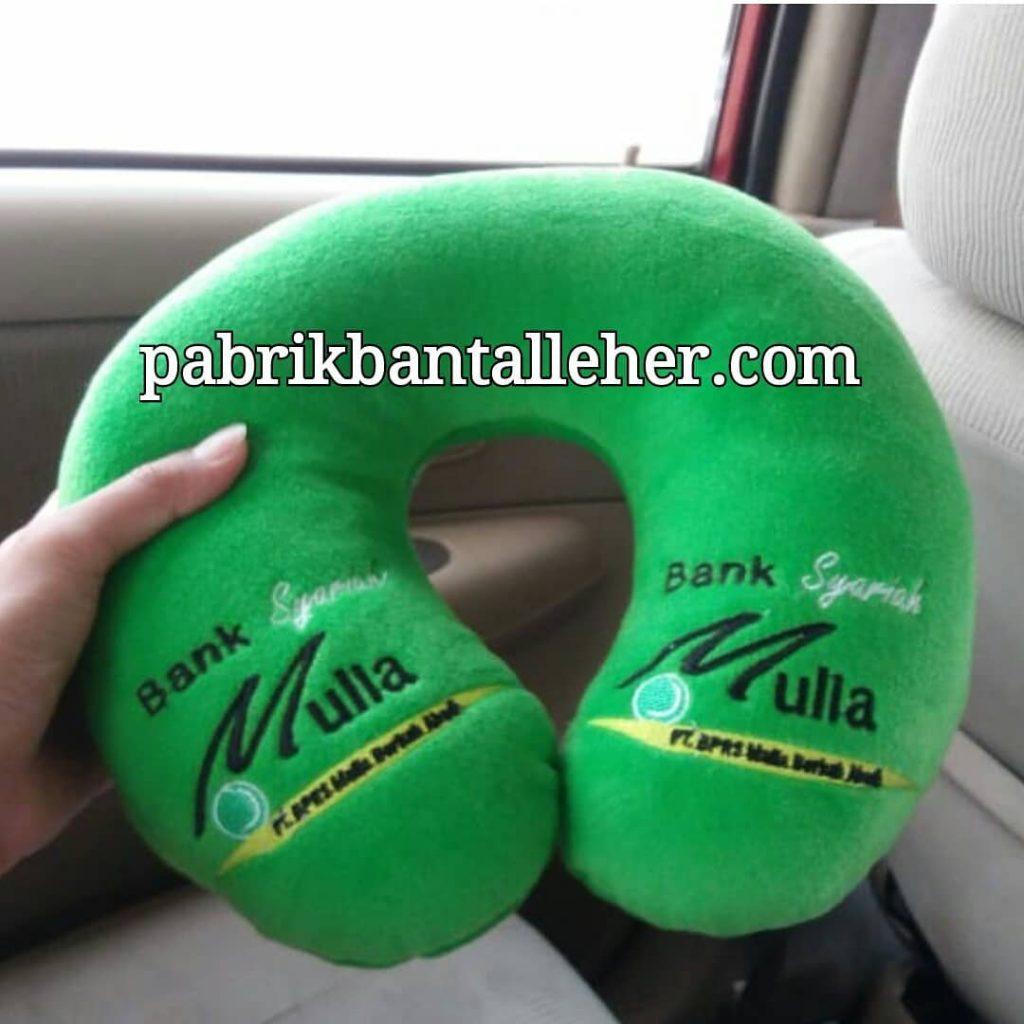custom bantal leher bank mulia syariah