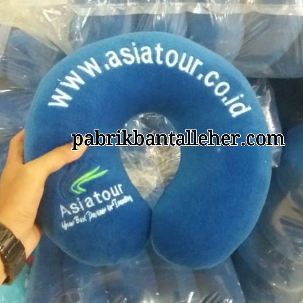 pabrik bantal leher souvenir asia tour