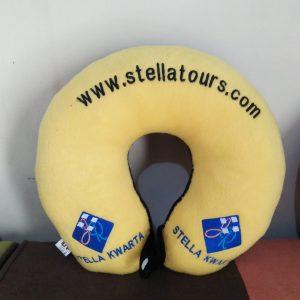 bantal leher promosi souvenir stella tour