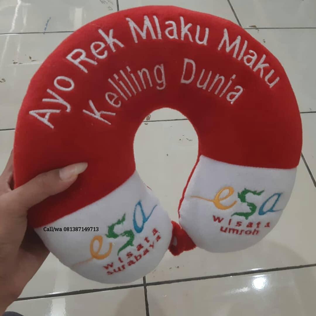Jual Bantal Leher Souvenir di Surabaya